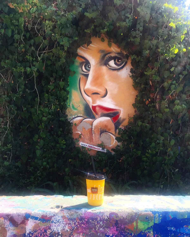 Street Art dans le quartier de Neve Tsedek