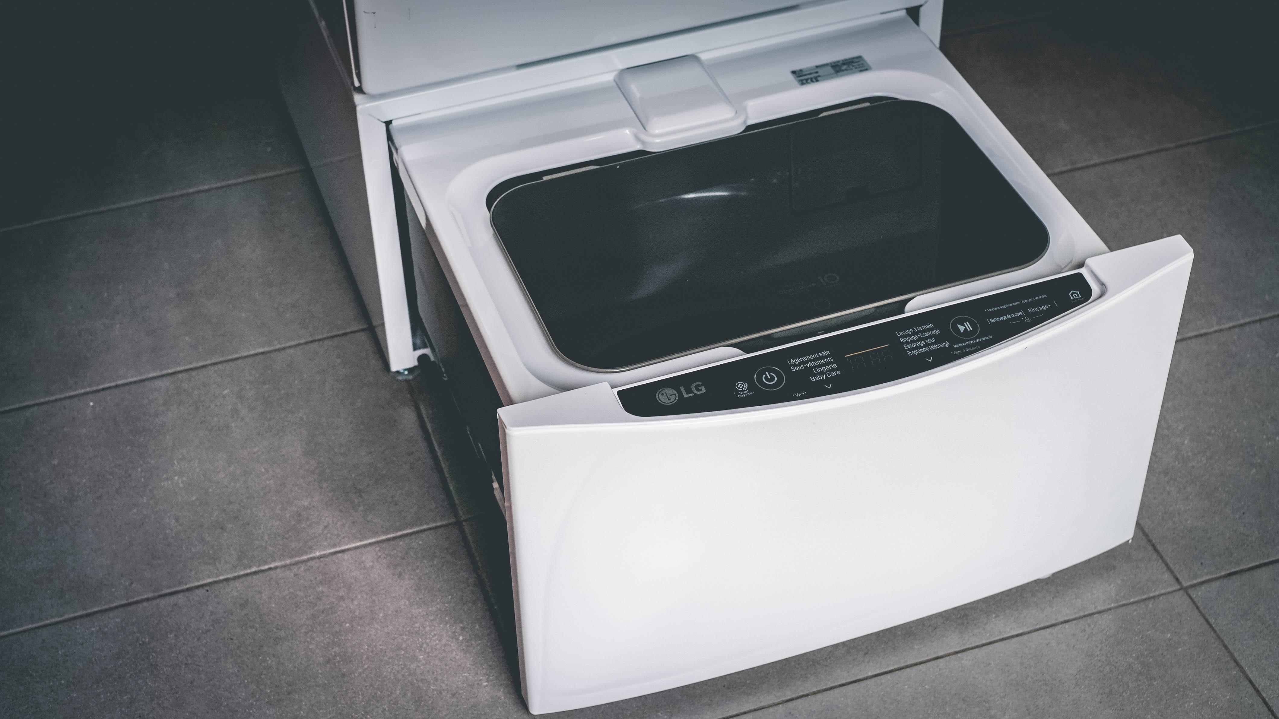 le lg twinwash la machine lavante s chante de demain nathanyel bns blog masculin. Black Bedroom Furniture Sets. Home Design Ideas